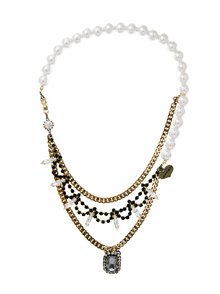 A closer look at_crystal+antique_Pearl_Necklace