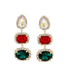 Atelier_gorgeous 3color_red_드롭_Earrings