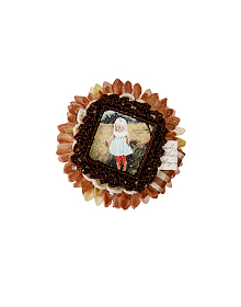 Blonde Girl_Brooch