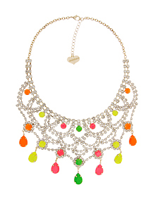 Fluorescence dress_Necklace