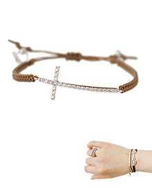 Chic Code_Cross†_Bracelet